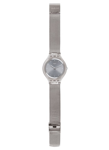 Swatch SVUK103M (Ø 40 MM) Hasır Bayan Saati Gri